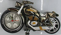 "Часы- будильник YF-169-A ""Мотоцикл"", 23х12см"