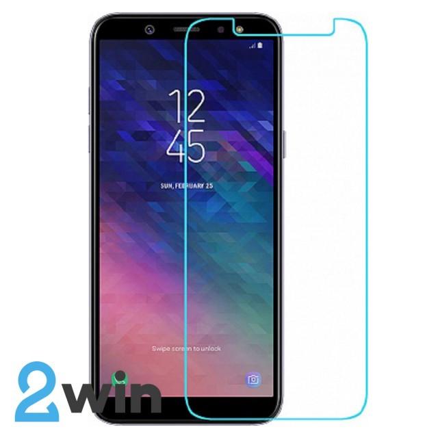 Скло 2.5 D Samsung A6 2018