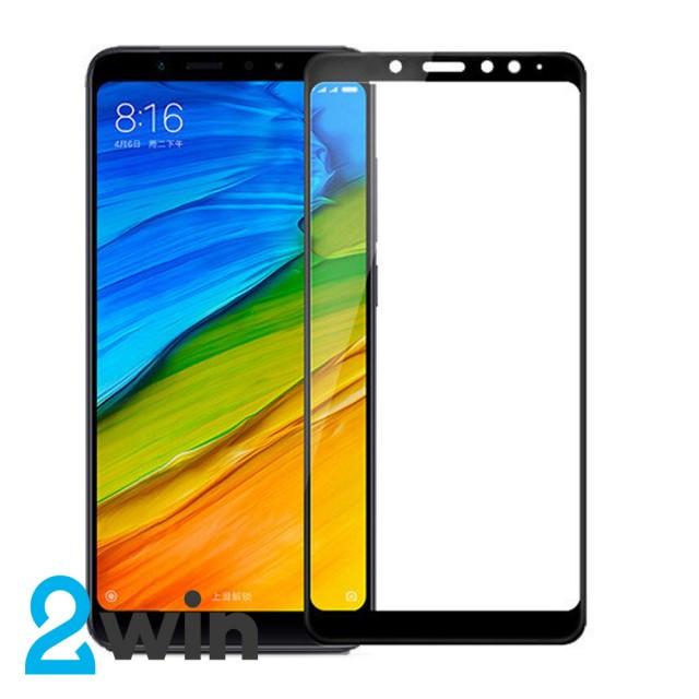 Стекло 5D Premium Xiaomi Redmi Note 5 Black