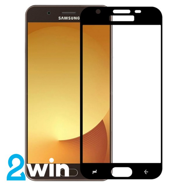 Скло 5D Premium Samsung J7 2017 Black