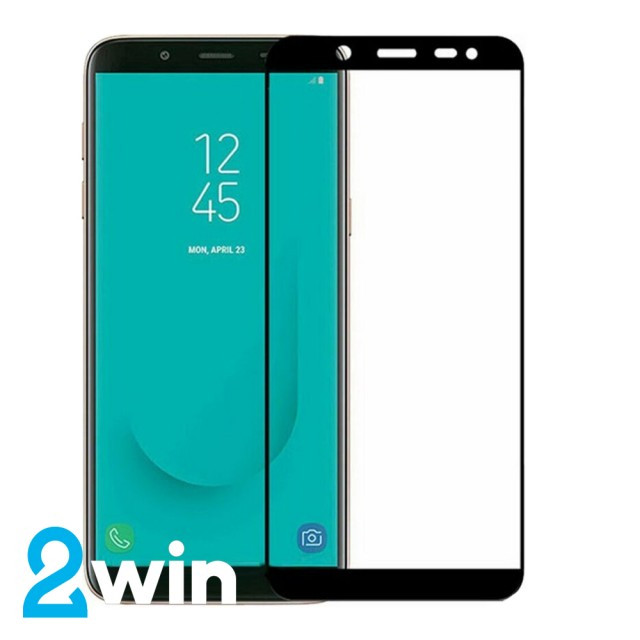 Скло 5D Samsung J6 2018 Black