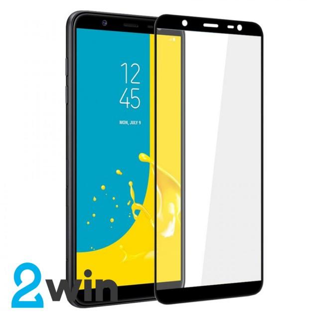 Скло 5D Samsung J8 2018 Black