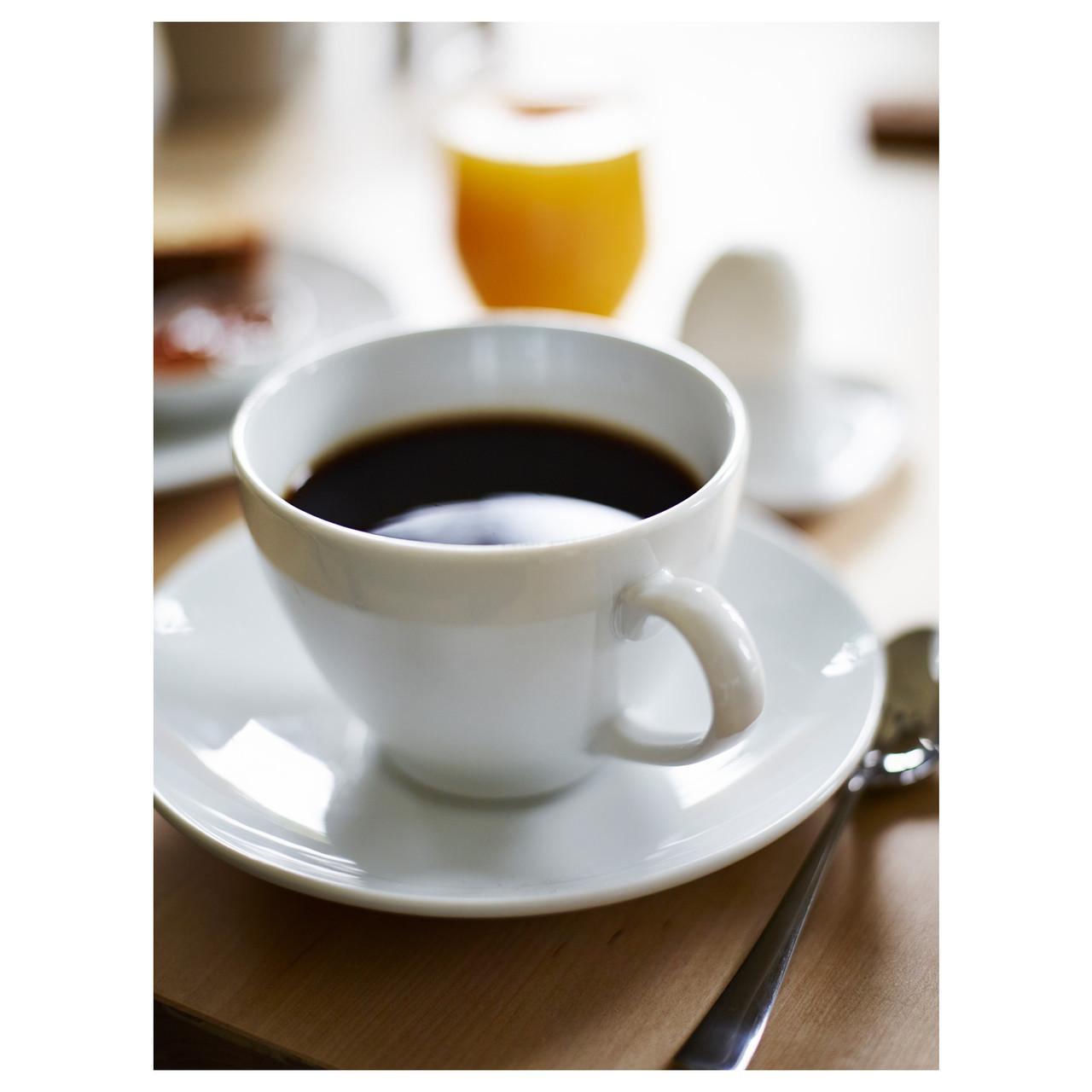 Чашка з блюдцем для кави VARDERA