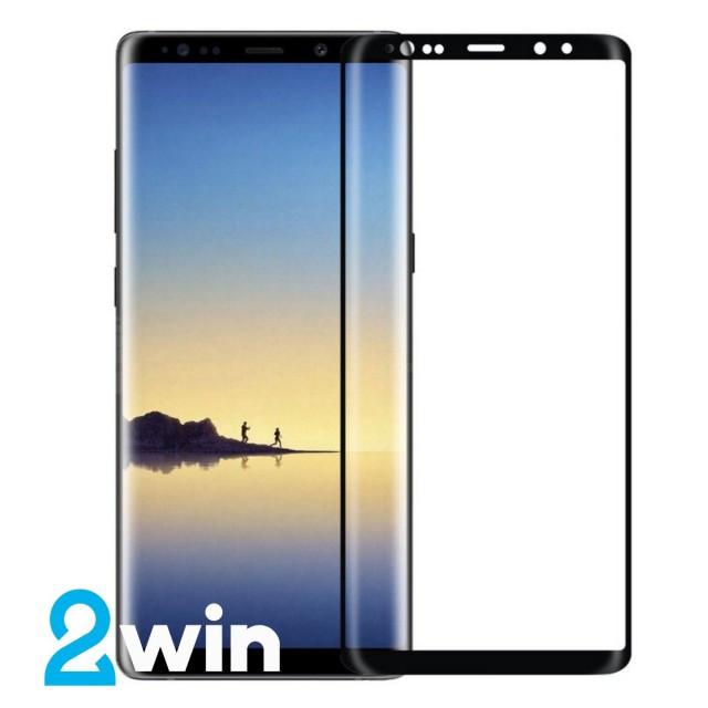 Стекло Full Glue Samsung Note 8 Black