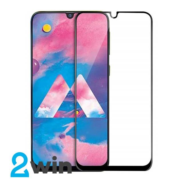 Стекло Full Glue Samsung M30 Black