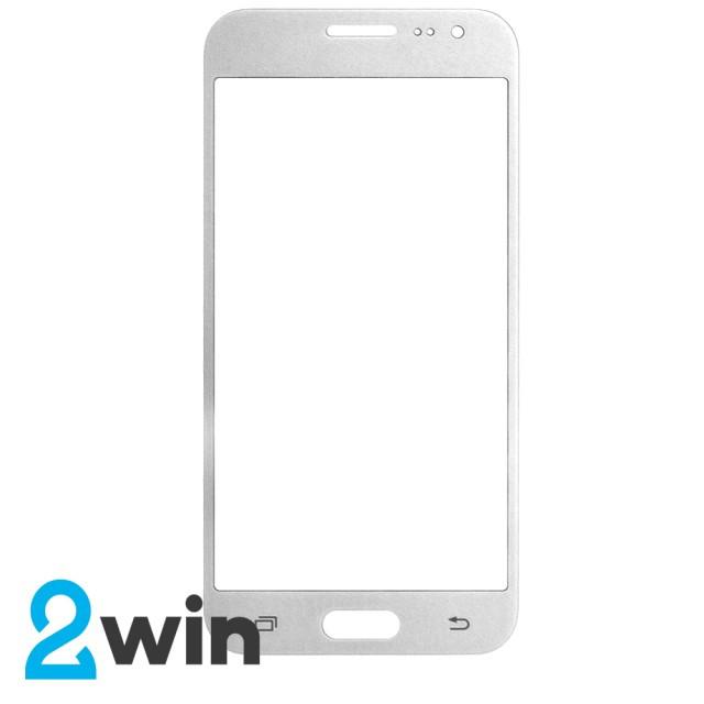 Стекло Full Glue Samsung Galaxy J2 SM-J200H 2015 White