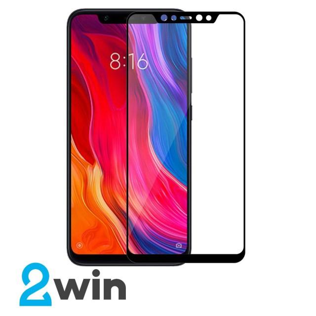 Стекло Full Glue Xiaomi Mi 8/Mi 8 Explorer/ Mi 8 PRO Black