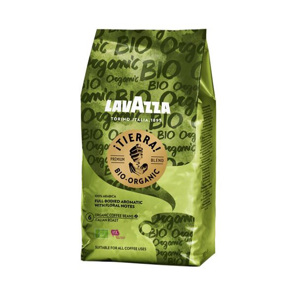 Кофе зерновой Lavazza Tierra Bio Organic 1кг