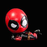 Фигурка Дэдпул лежит на боку / Cosbaby Deadpool Marvel 10см