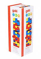 Дженга Goki Разноцветная башня 45 деталей