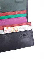 Женский кожаный кошелек Balisa PY-В119 черный Кошельки Balisa оптом с быстрой доставкой, фото 4