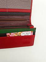 Женский кожаный кошелек Balisa PY-D127 крансый  Кошельки Balisa оптом с быстрой доставкой, фото 4