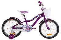 """Велосипед детский 18"""" Formula ALICIA 2019 (фиолетовый)"""