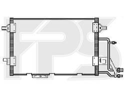 Радиатор кондиционераAudi A6 C5 (AVA) FP 12 K207