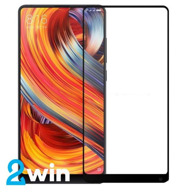 Стекло Full Glue Xiaomi Mi Mix 2 Black