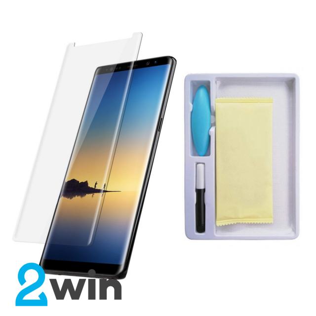 Стекло Full Glue UV Samsung Galaxy Note 8