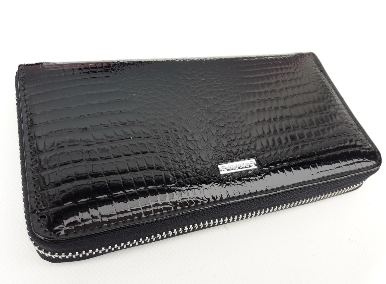 Жіночий шкіряний гаманець Balisa В142-570-1 чорний Лакові гаманці Balisa оптом