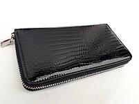 Женский кожаный кошелек Balisa В116-570-1 черный Лаковые кошельки Balisa оптом, фото 2