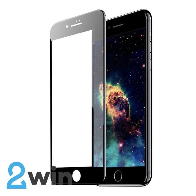 Скло Matte iPhone 7/8 Plus Black