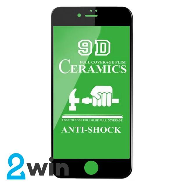 Захисне скло Ceramic iPhone 7/8 Black
