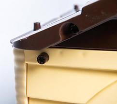 Детский пластиковый домик (Бежево-Коричневый) Долони - 02550/12, фото 2