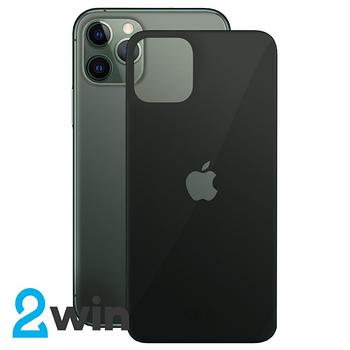 Стекло Защитное Back Glass iPhone 11 Pro Max Black