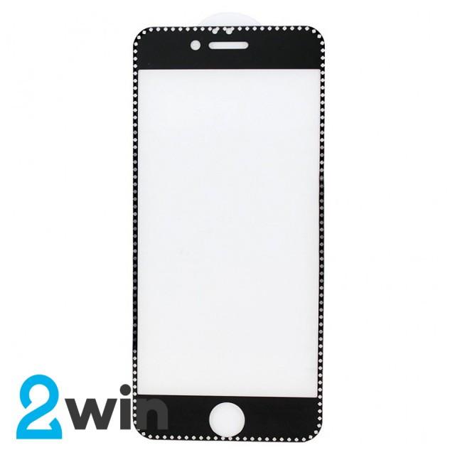 Скло Захисне Diamond iPhone 7/8 Plus Black