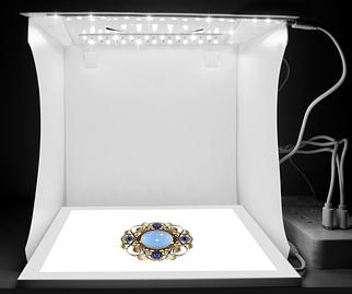 Светодиодная панель для предметной съемки PULUZ 22*22*19 cm
