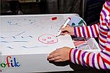Крышка грифельно-маркерная для светового стола Noofik, фото 4