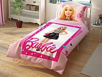 Детское постельное белье TAC Barbie. Полуторное