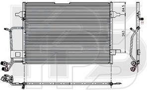 Радиатор кондиционераVolkswagen Passat B5 (AVA) FP 12 K179
