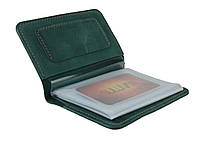 Обложка для водительских документов прав удостоверений SULLIVAN odd4(5) зеленая
