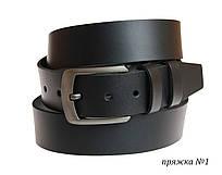 Ремень мужской кожаный джинсовый SULLIVAN  RMK-121(9) 115-150 см черный