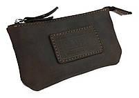 Ключница кожаная сумочка для ключей SULLIVAN k1(5.5) коричневая