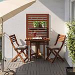 IKEA APPLARO Садовый стул, складной коричневый пятно (404.131.31), фото 2
