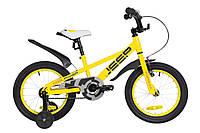 "Велосипед детский 16"" Formula JEEP 2019 (желтый)"