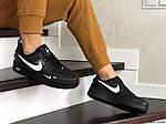 Женские кроссовки Nike Air Force (черные), фото 4