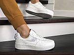 Женские кроссовки Nike Air Force (белые), фото 3