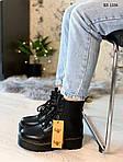 Женские зимние ботинки Dr. Martens Jadon Fur (черные), фото 4