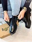 Женские зимние ботинки Dr. Martens Jadon Fur (черные), фото 6