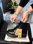 Женские зимние ботинки Dr. Martens Jadon Fur (черные), фото 7