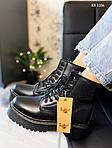 Женские зимние ботинки Dr. Martens Jadon Fur (черные), фото 8