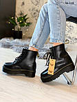 Женские зимние ботинки Dr. Martens Jadon Fur (черные), фото 9