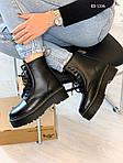 Женские зимние ботинки Dr. Martens Jadon Fur (черные), фото 10