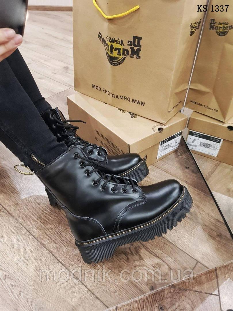 Женские зимние ботинки Dr. Martens Jadon (черные)