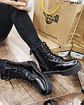 Женские зимние ботинки Dr. Martens Jadon (черные), фото 2