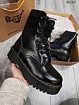 Женские зимние ботинки Dr. Martens Jadon (черные), фото 4