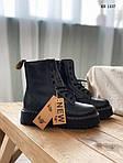 Женские зимние ботинки Dr. Martens Jadon (черные), фото 5