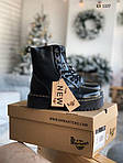 Женские зимние ботинки Dr. Martens Jadon (черные), фото 6