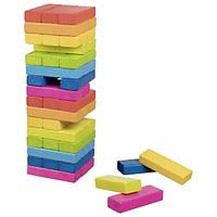 Дженга Goki Разноцветная башня 48 деталей